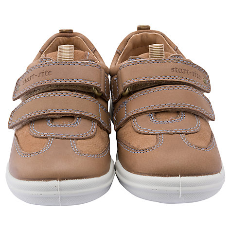 Buy Start-rite Flexi Soft Air Leather Shoes, Light Brown Online at johnlewis.com