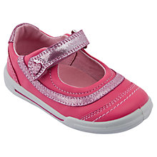 Buy Start-rite Flexi-Soft Feather Shoes, Pink Online at johnlewis.com