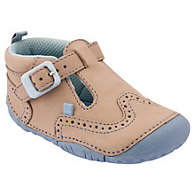 Buy Start-rite Harry Pre-Walker Nubuck Shoes, Stone Online at johnlewis.com