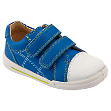 Buy Start-rite Flexi Soft Milan Shoes, Bright blue Online at johnlewis.com