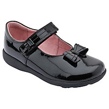 Buy Start-rite Viola School Shoe, Black Online at johnlewis.com