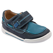 Buy Start-rite Flexi Soft Sailor Shoes, Navy/Blue Online at johnlewis.com