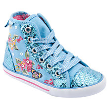 Buy Start-rite Frangipani Canvas Trainers Online at johnlewis.com