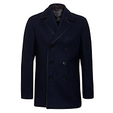 Buy Kin by John Lewis Knoll Peacoat, Navy Online at johnlewis.com