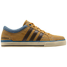 Buy Adidas BB Neo Skool Lo Trainers, Yellow/Blue Online at johnlewis.com