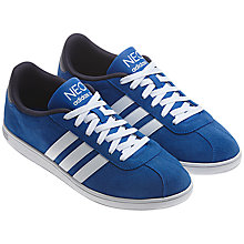 Buy Adidas VL Neo Court Trainers Online at johnlewis.com