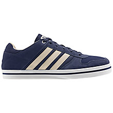 Buy Adidas SK Neo Lite Lo Trainers, Navy/White Online at johnlewis.com