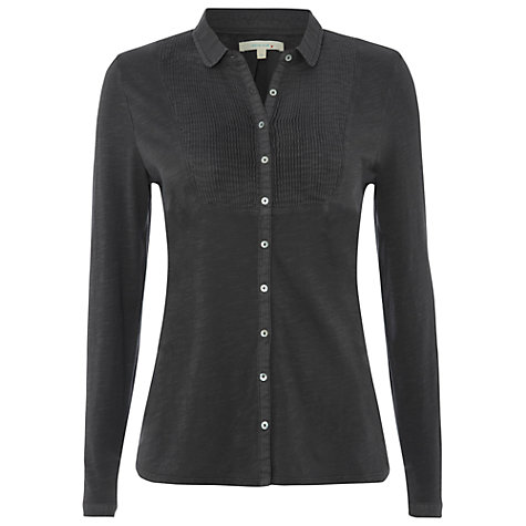 Buy White Stuff Tucker Shirt, Gunmetal Online at johnlewis.com