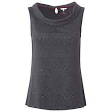 Buy White Stuff Americano Vest, Dark Granite Online at johnlewis.com