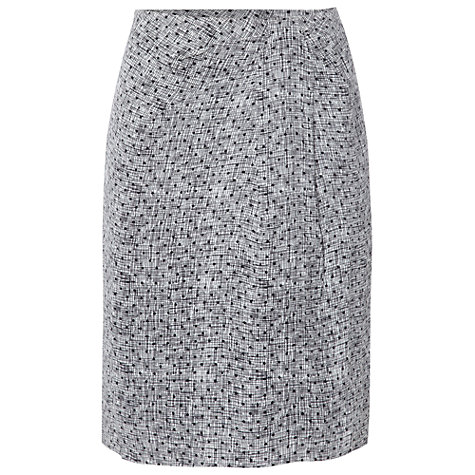 Buy White Stuff Village Skirt, Gunmetal Online at johnlewis.com