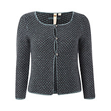 Buy White Stuff Hudson Cardigan, Dark Mineral Green Online at johnlewis.com