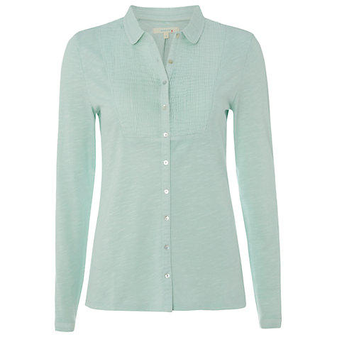 Buy White Stuff Tucker Shirt, Blue Online at johnlewis.com