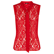 Buy Oasis Lace Shirt Online at johnlewis.com