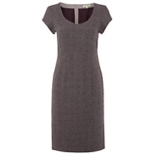 Buy White Stuff Long Island Dress, Dark Aubergine Online at johnlewis.com