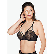 Buy Wacoal Retro Chic Underwired Bra, Black Online at johnlewis.com