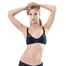 Buy Mimi Holliday Dotty Nuit Bra, Ink Blue / Navy Online at johnlewis.com