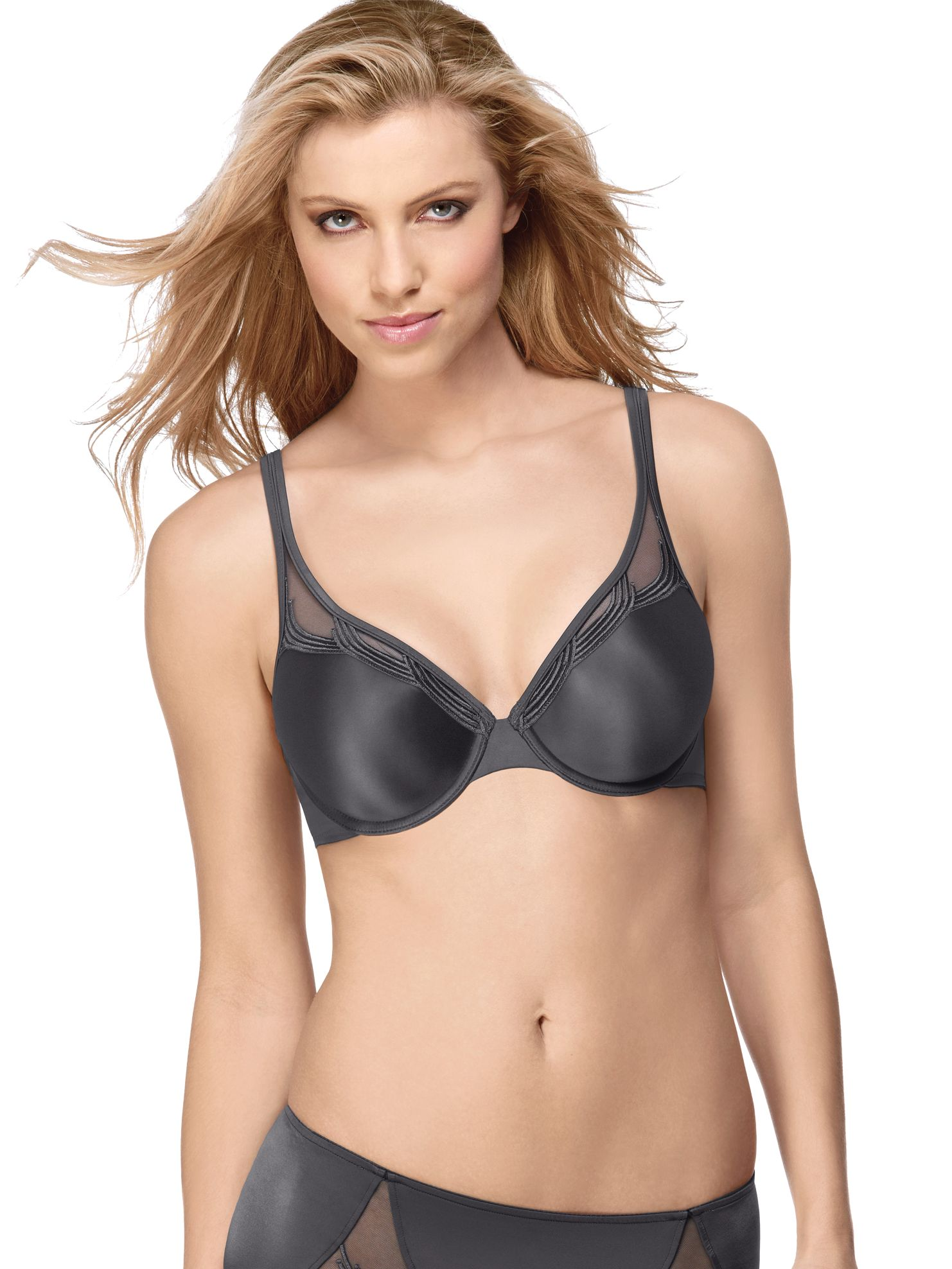 Wacoal Pure Couture Underwire T-Shirt Bra, Iron