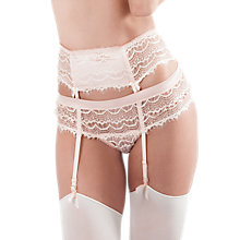 Buy Mimi Holliday Bisou Bisou Boy Short Briefs, Light Peach Online at johnlewis.com