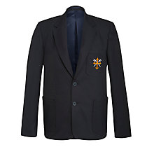 Buy Eltham College School Boys' Blazer, Navy Blue Online at johnlewis.com