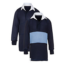 Buy Ibstock Place School Boys' Reversible Rugby Jersey, Navy Online at johnlewis.com