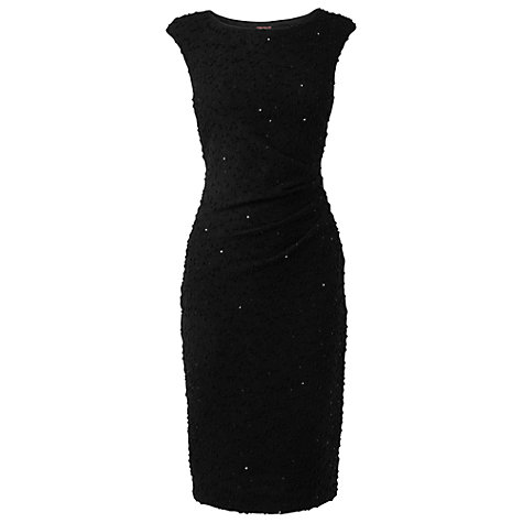 Buy Phase Eight Babette Sequin Dress, Black Online at johnlewis.com