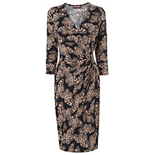 Buy Phase Eight Bella Butterfly Dress, Black/Camel Online at johnlewis.com