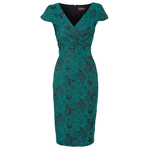 Buy Phase Eight Lilly Stretch Dress, Petrol Online at johnlewis.com