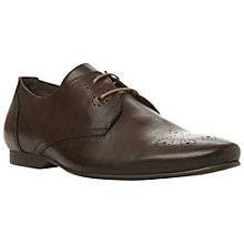 Buy Bertie Beatty Gibson Leather Brogue Oxford Shoes, Brown Online at johnlewis.com