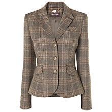 Buy Phase Eight Imogen Riding Jacket, Neutral Online at johnlewis.com
