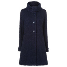 Buy Phase Eight Ria Knitted Coat, Navy Online at johnlewis.com