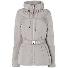 Buy Phase Eight Elyssa Quilted Jacket, Pebble Online at johnlewis.com