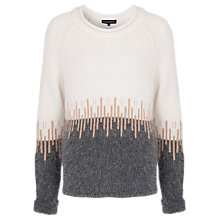Buy French Connection Heartbeat Knits Jumper, Casatuatan/Brule Online at johnlewis.com