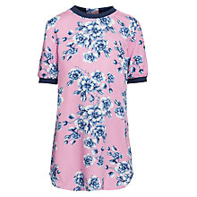 Buy Loved & Found Bright Floral Dress, Pink Online at johnlewis.com