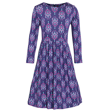 Buy Loved & Found Abstract Print Dress, Blue Online at johnlewis.com
