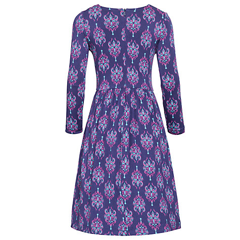 Buy Loved & Found Abstract Print Dress, Purple Online at johnlewis.com