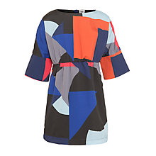 Buy Kin by John Lewis Girls' Geometric Print Dress, Multi Online at johnlewis.com