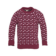 Buy Barbour Girls' Taylor Jumper, Juniper Online at johnlewis.com