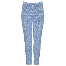 Buy Kin by John Lewis Girls' Check Leggings, Navy Online at johnlewis.com