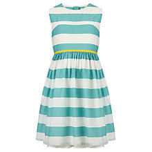 Buy John Lewis Girl Horizontal Stripe Dress Online at johnlewis.com
