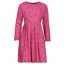 Buy Loved & Found Bird Print Dress, Magenta Online at johnlewis.com