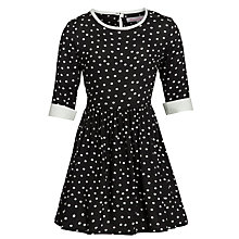 Buy Loved & Found Spot Dress, Black Online at johnlewis.com