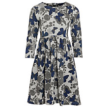 Buy Loved & Found Butterfly Print Dress, Grey Marl Online at johnlewis.com