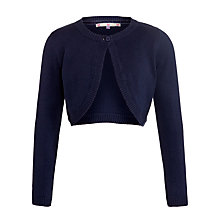 Buy John Lewis Girl Cotton Knit Bolero Cardigan Online at johnlewis.com