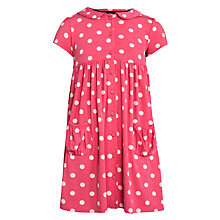 Buy John Lewis Girl Spot Jersey Dress Online at johnlewis.com