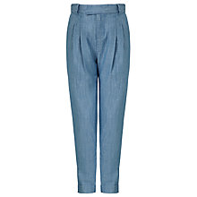 Buy Kin by John Lewis Girls' Chambray Trousers, Blue Online at johnlewis.com