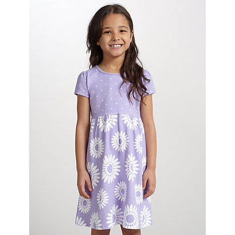 Buy John Lewis Girl Floral Jersey Dress Online at johnlewis.com