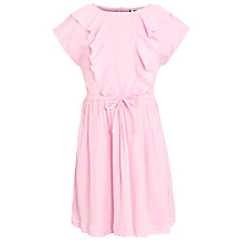 Buy Kin by John Lewis Girls' Frill Fronted Dress, Pink Online at johnlewis.com