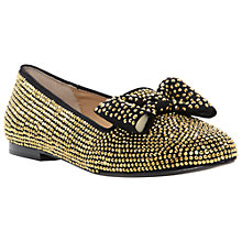 Buy Steve Madden Marble Studded Pumps, Black/Gold Online at johnlewis.com