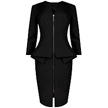 Buy Ted Baker Jamtye Long Sleeve Zip Dress Online at johnlewis.com