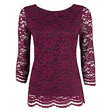 Buy Kaliko LaceTop, Wine Online at johnlewis.com